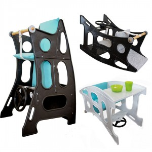 Hokus Pokus 3-in-1 High Chair - High Chair Rocker Table - Hokus Pokus - 3 in 1 Highchair